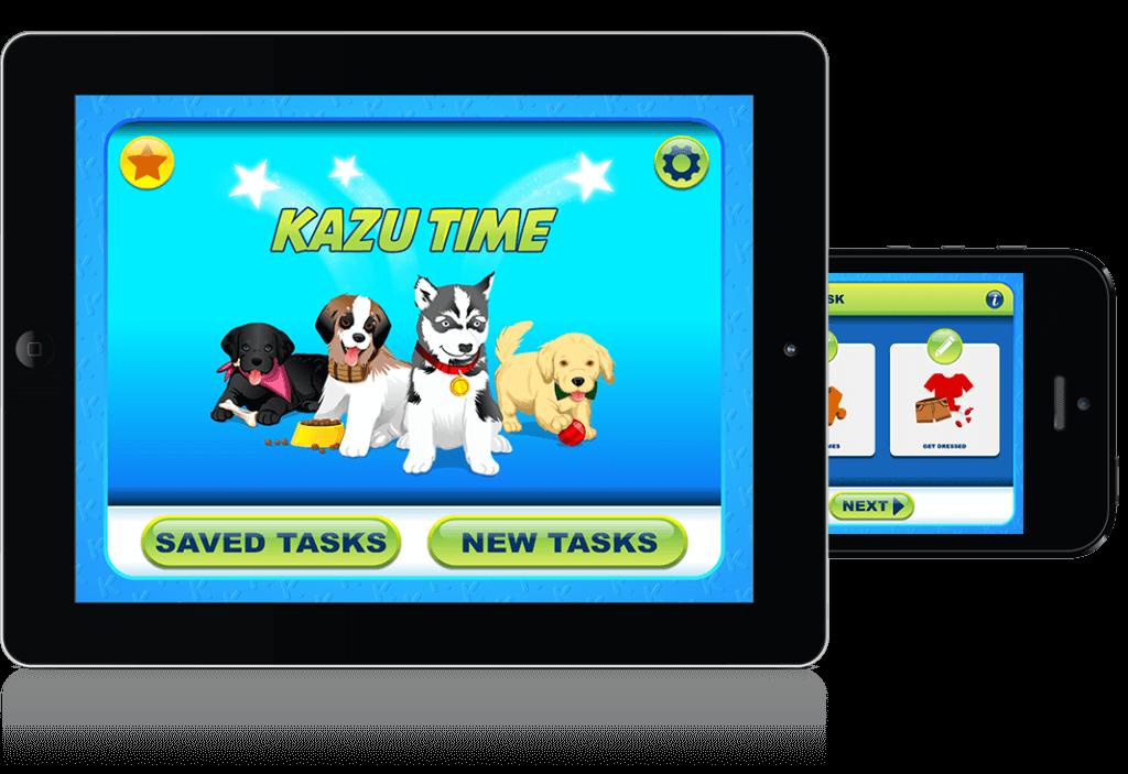 Kazutime Childrens mobile app