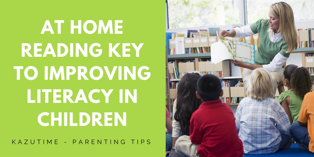 At Home Reading Key to Improving Literacy in Children