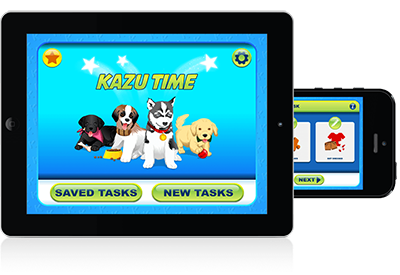 KAZUTIME for kids time management iOS and Android Downloads
